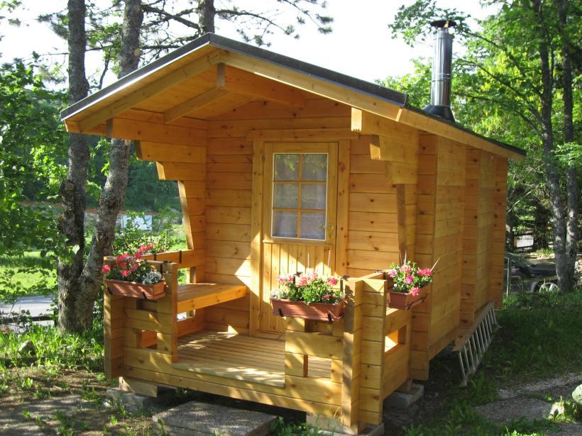 Sauna extérieur, réalisation de sauna finlandais, importation de sauna, Woodline Menuiserie Anthony Hablot