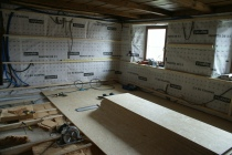 Pose de lambris, contrelattage, isolation, Pavatex, OSB, Woodline Menuiserie Anthony Hablot