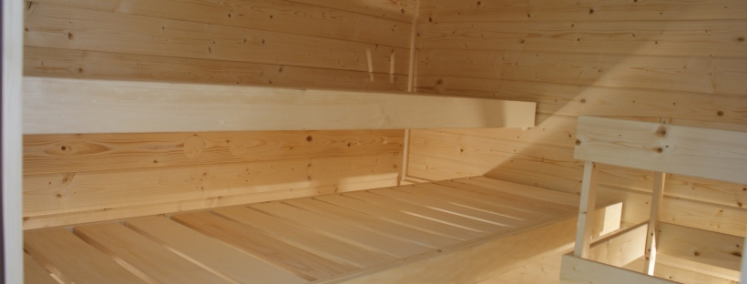 Woodline Menuiserie, Anthony Hablot, Pose de sauna, sauna traditionnel, sauna Suisse Romande, sauna finlandais