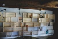 Woodline Menuiserie Anthony Hablot, Menuisier Suisse Romande, Menuisier Neuchâtel, Bibliothèque sur mesure